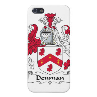 Escudo de la familia de Denman iPhone 5 Carcasa