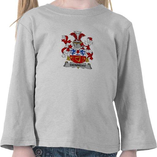 Escudo de la familia de Dennehy Camiseta