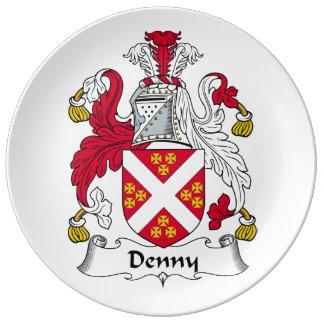 Escudo de la familia de Denny Plato De Cerámica