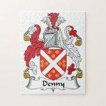 Escudo de la familia de Denny Puzzles