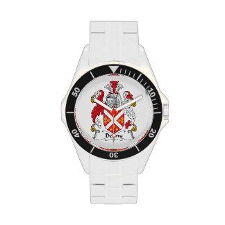 Escudo de la familia de Denny Relojes