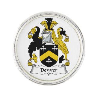 Escudo de la familia de Denver Insignia