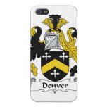 Escudo de la familia de Denver iPhone 5 Cárcasas
