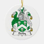 Escudo de la familia de Derby Adorno De Reyes