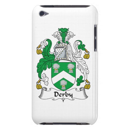 Escudo de la familia de Derby iPod Touch Protectores