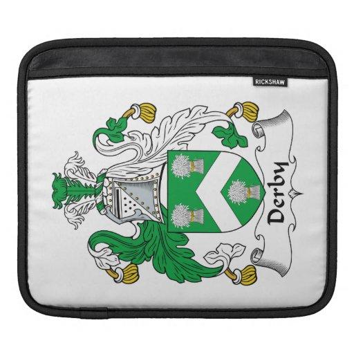 Escudo de la familia de Derby Mangas De iPad