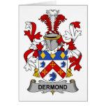 Escudo de la familia de Dermond Felicitaciones