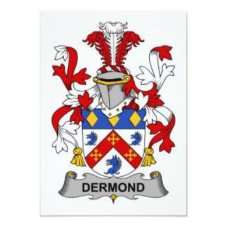 Escudo de la familia de Dermond