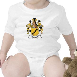 Escudo de la familia de Dersch Traje De Bebé