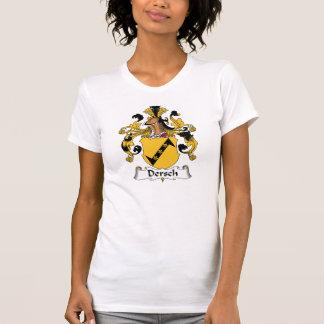 Escudo de la familia de Dersch Camisetas