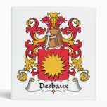Escudo de la familia de Desbaux
