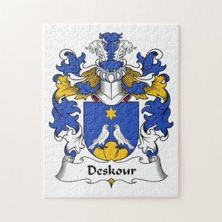 Escudo de la familia de Deskour Puzzle Con Fotos