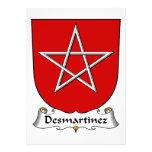 Escudo de la familia de Desmartinez Anuncios Personalizados