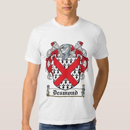 Escudo de la familia de Desmond Remera
