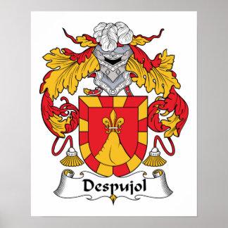 Escudo de la familia de Despujol Impresiones