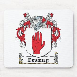 Escudo de la familia de Devaney Alfombrilla De Raton