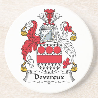 Escudo de la familia de Devereux Posavasos De Arenisca