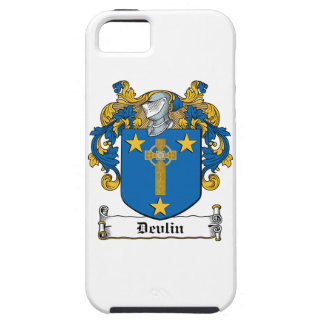 Escudo de la familia de Devlin Funda Para iPhone 5 Tough