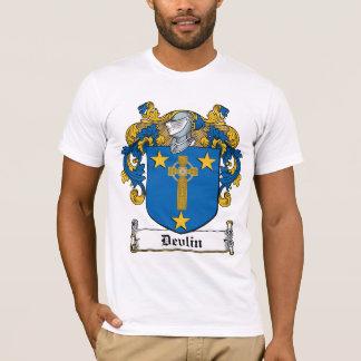 Escudo de la familia de Devlin Playera