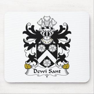 Escudo de la familia de Dewi Sant Tapete De Ratón
