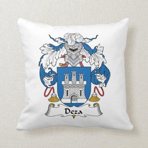 Escudo de la familia de Deza Cojín