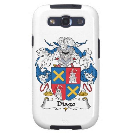 Escudo de la familia de Diago Samsung Galaxy S3 Cárcasa