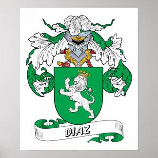 Escudo de la familia de Díaz Impresiones