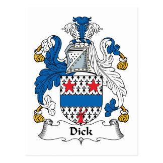 Escudo de la familia de Dick Postales