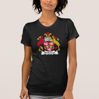 Escudo de la familia de Dickman Camisetas