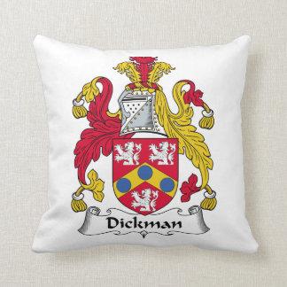 Escudo de la familia de Dickman Cojin