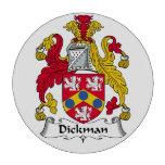 Escudo de la familia de Dickman Juego De Fichas De Póquer