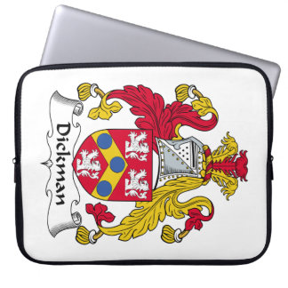 Escudo de la familia de Dickman Fundas Computadoras