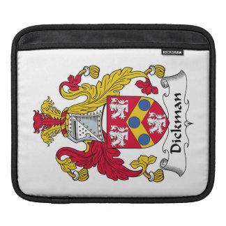 Escudo de la familia de Dickman Funda Para iPads