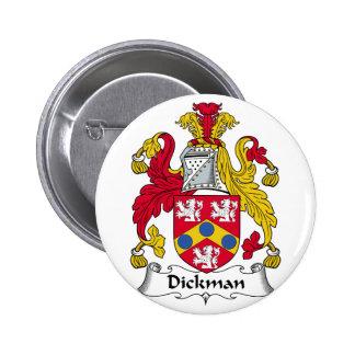 Escudo de la familia de Dickman Pins
