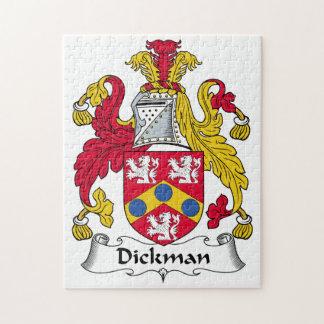Escudo de la familia de Dickman Puzzles