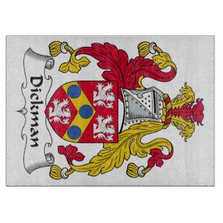 Escudo de la familia de Dickman Tablas De Cortar