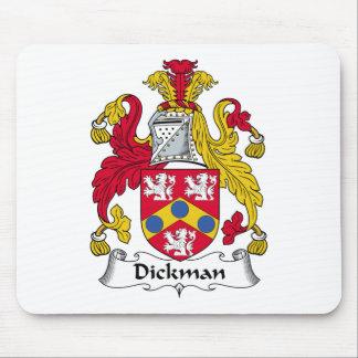 Escudo de la familia de Dickman Tapete De Raton