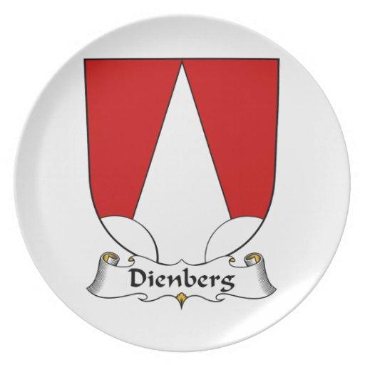 Escudo de la familia de Dienberg Platos