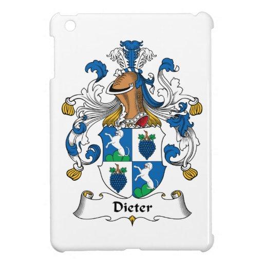 Escudo de la familia de Dieter iPad Mini Funda