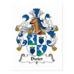 Escudo de la familia de Dieter Postales