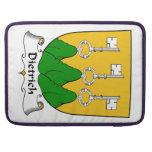 Escudo de la familia de Dietrich Funda Macbook Pro