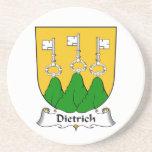Escudo de la familia de Dietrich Posavaso Para Bebida