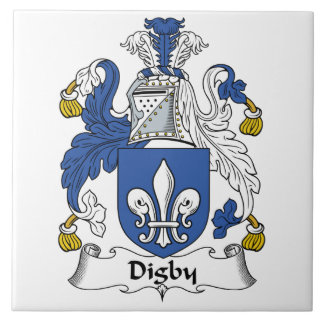 Escudo de la familia de Digby Azulejos
