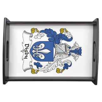 Escudo de la familia de Digby Bandeja