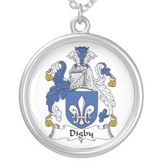 Escudo de la familia de Digby Colgante Redondo