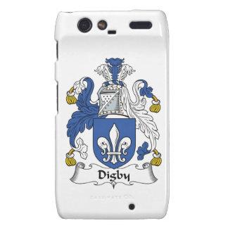 Escudo de la familia de Digby Droid RAZR Carcasas