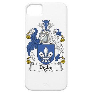 Escudo de la familia de Digby iPhone 5 Case-Mate Cobertura