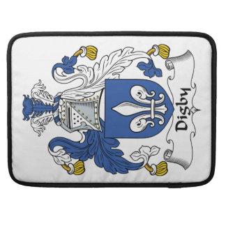 Escudo de la familia de Digby Funda Para Macbook Pro