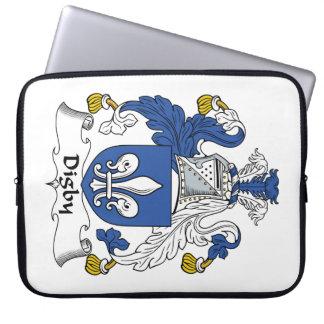 Escudo de la familia de Digby Fundas Computadoras