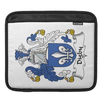 Escudo de la familia de Digby Fundas Para iPads